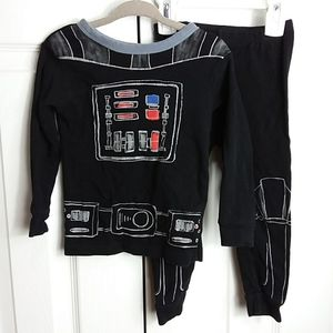 Star Wars for Gap Pajamas Sz 2T